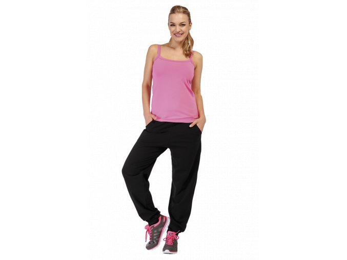 cerne sportovni kalhoty damske draps 394 1