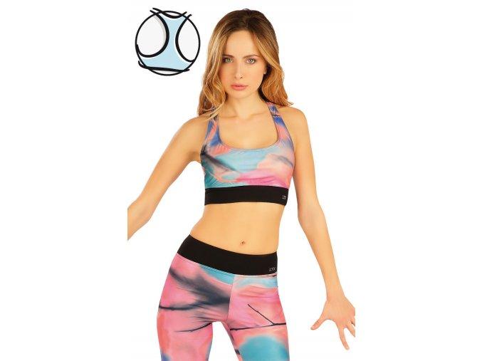 Krátký fitness top Litex 50044