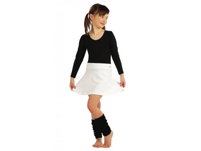 LITEX Dres dětský s dlouhými rukávy 99416 - černý