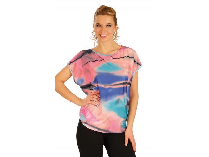 Tričko s motýlím rukávem litex 50041