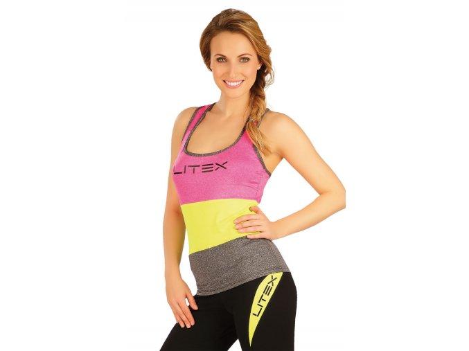 Barevné sportovní tílko Litex 50003