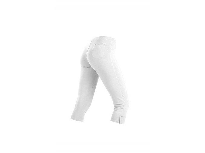 Bílé bavlněné legíny Litex 58195