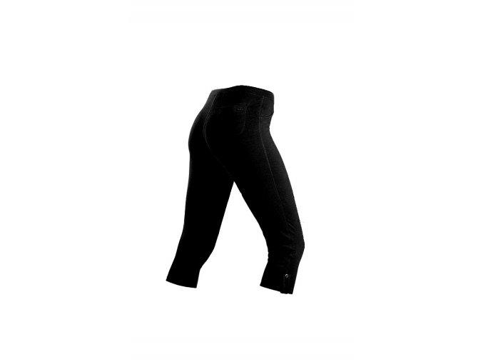 Černé bavlněné 3 4 legíny Litex 50177