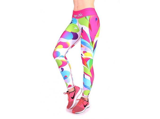 Sportovní fitness legíny Candy girl 2skin Na Cvíčo 1