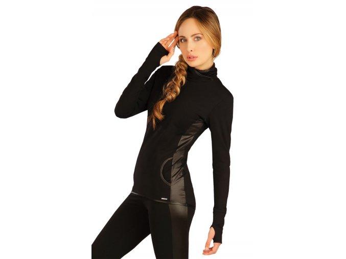 Černá dámská mikina Litex 50131 Na Cvíčo