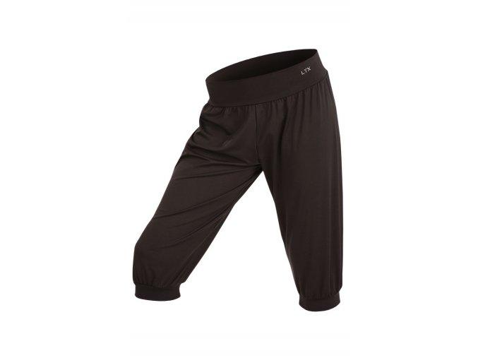 Dětské kalhoty černé s nízkým sedem Litex 58351 Na Cvíčo