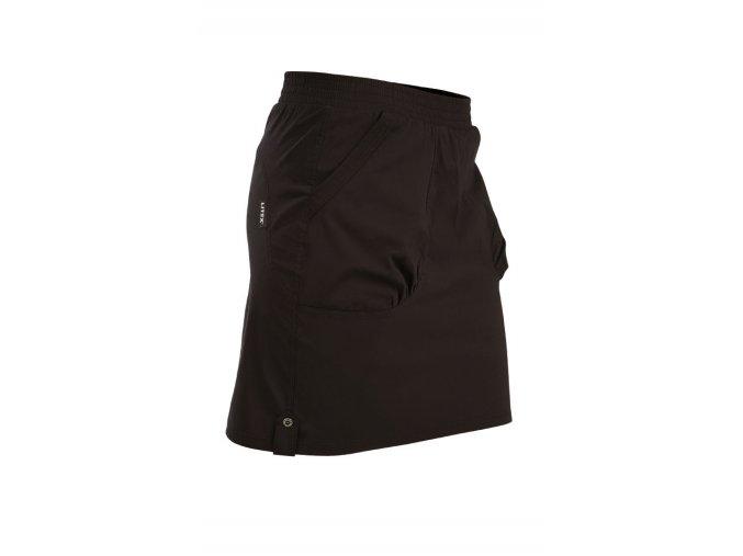 Černá sportovní sukně Litex Microtec 54171
