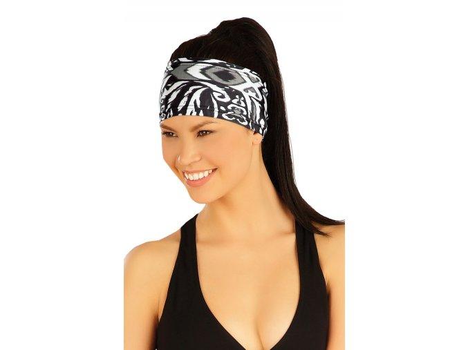 Sportovní čelenka dámská se vzorem Litex 51141