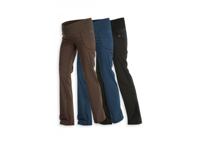 LITEX Kalhoty těhotenské dlouhé 99526 - modré