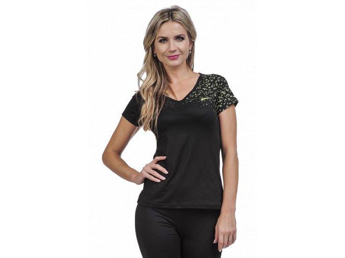 Černé sportovní tričko dámské Draps 25 1