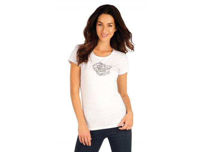 Bílé tričko s krátkým rukávem Litex 55313