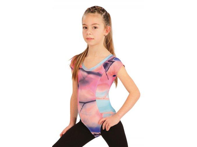 Gymnastický dres barevný Litex 55438 Na Cvíčo