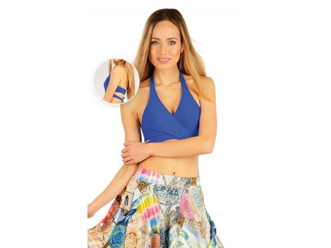 Sportovní taneční podprsenka Litex modrá 54033
