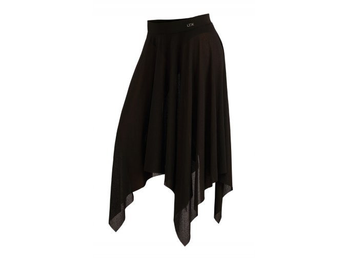 Černá sukně na tancování cvičení pláž Litex 54231