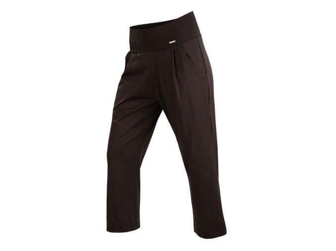 7 8 černé kalhoty dámské Litex 58109