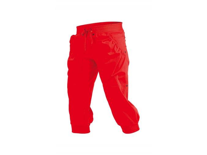 Červené 3 4 kalhoty Litex Microtec 54178