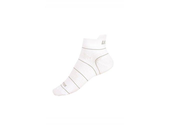 Bílé sportovní ponožky Litex 99672