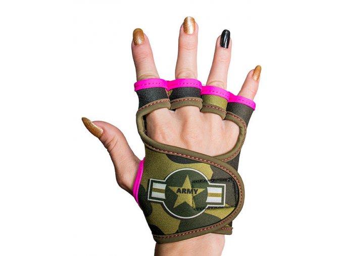 Sportovní rukavice dámské GlovBel Army 1