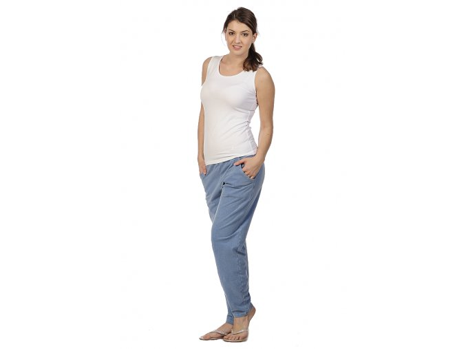Kalhoty s hlubokým sedem chamois Draps 354 1