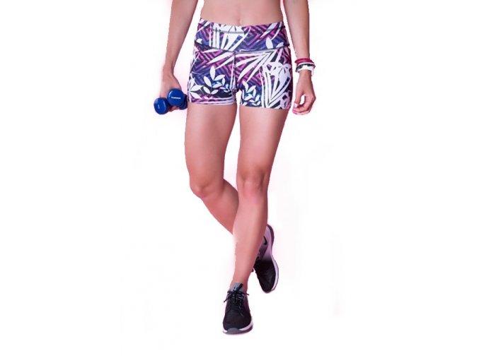 Fitness šortky paradise 2skin Na Cvíčo 1