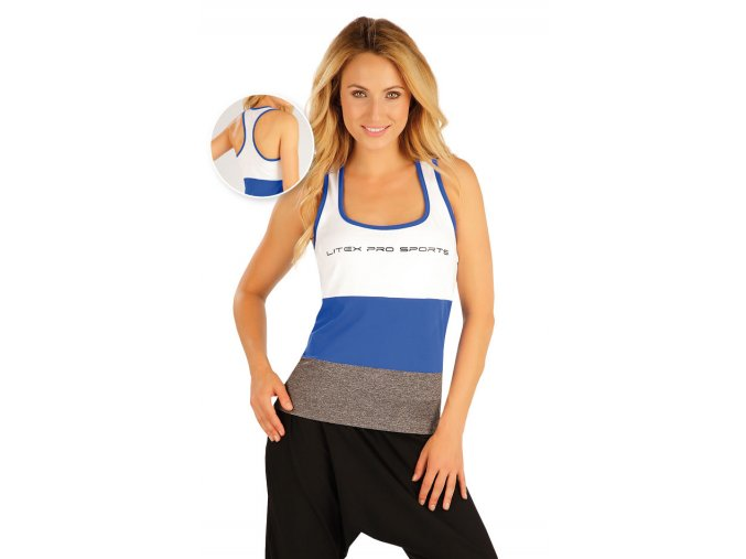 Fitness tílko barevné Litex 55403 Na Cvíčo