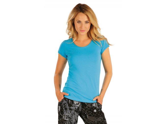 Tyrkysové tričko Litex 55310
