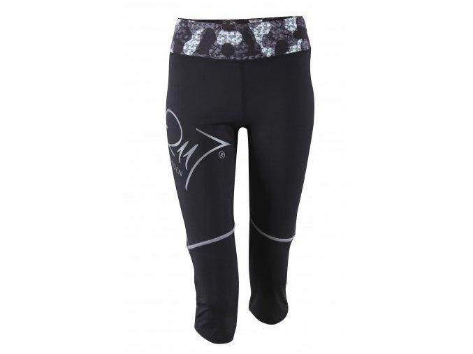 3/4 sportovní elastické kalhoty