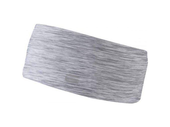 OXIDE - běžecká  čelenka - šedá melange