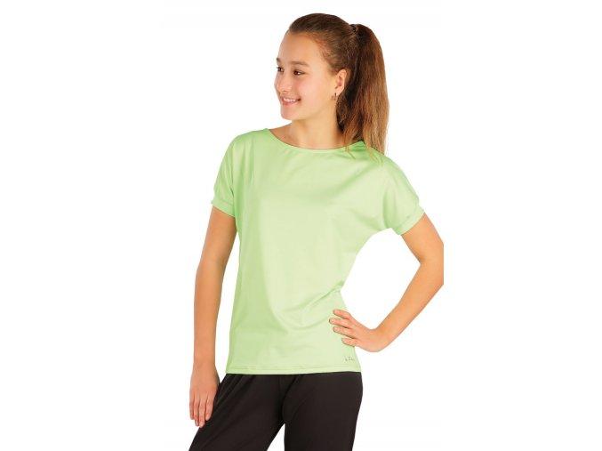 Dětské tričko zelené Litex 58353 Na Cvíčo