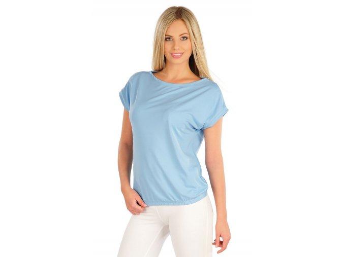 Modré tričko dámské Litex 58306