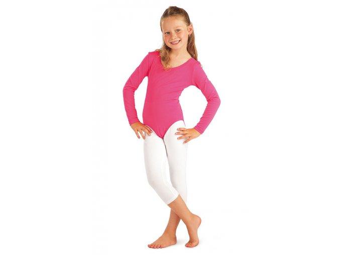 Růžový dětský dres s dlouhými rukávy 99416 Litex