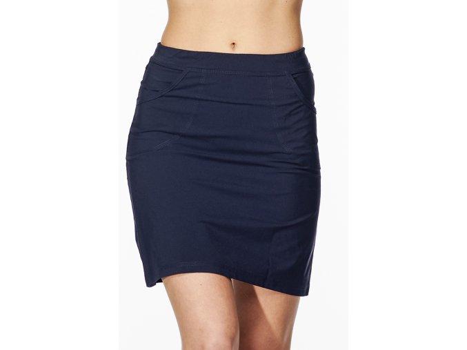 Sportovní sukně tmavě modrá Draps Na Cvíčo 4