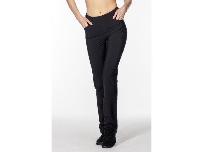 Dámské funkční kalhoty s vyšším sedem černé Draps 329 1
