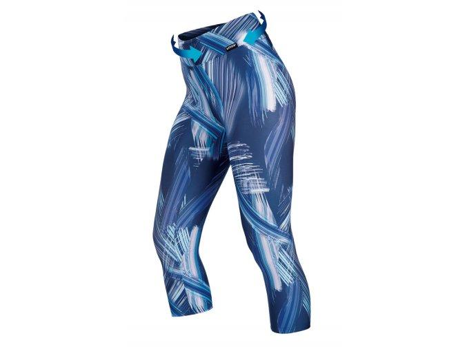 Sportovní 3 4 legíny modré dámské Litex 60580