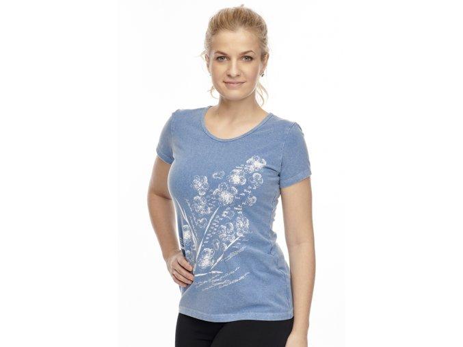 Bavlněné tričko Draps chamois 24 1