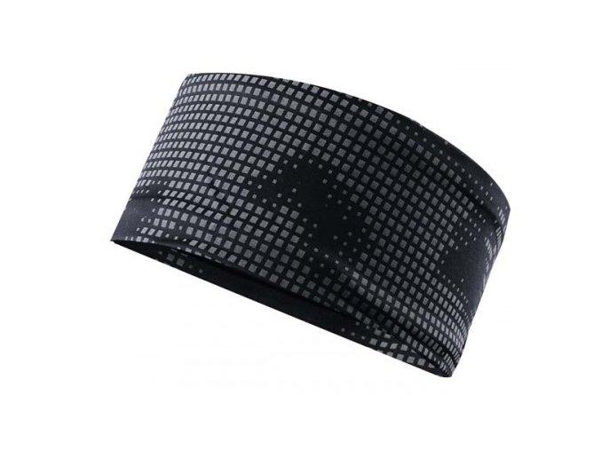 OXIDE - běžecká  čelenka, černá