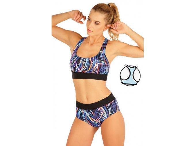 63518 sportovní plavky dámské vršek