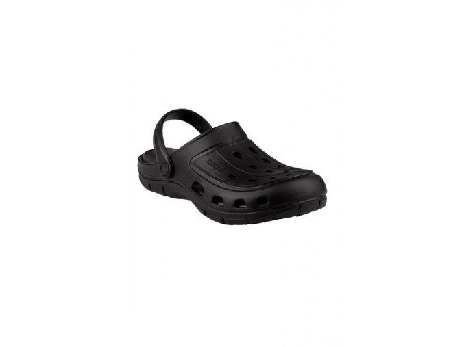 63771 pánské sandály černé