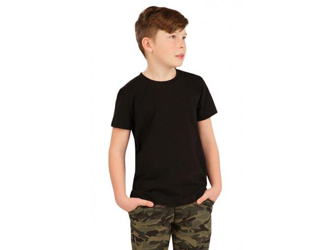 tričko dětské černé LT5A386