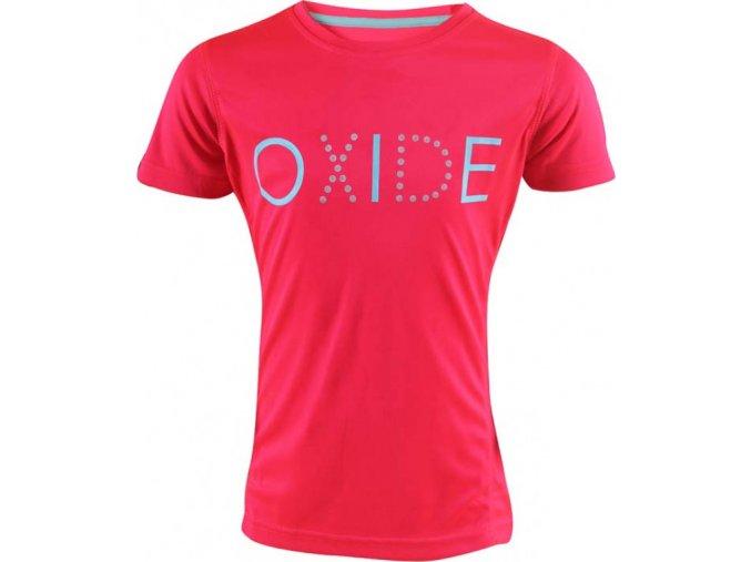 růžové dětské triko OXIDE