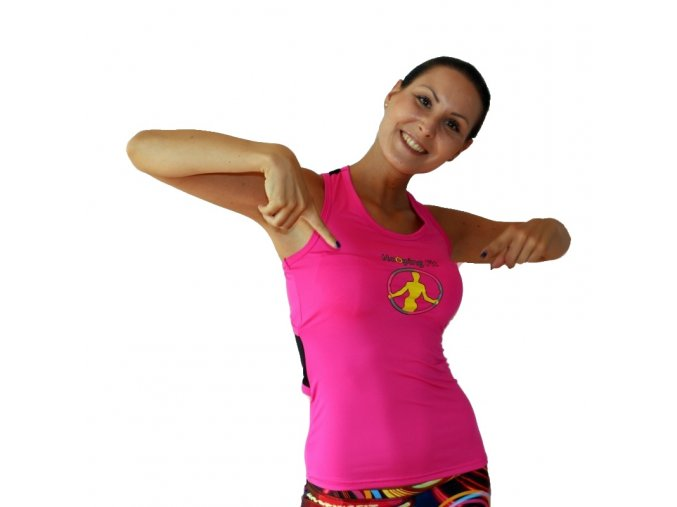 HoOpingFit Hoopy Top Pink