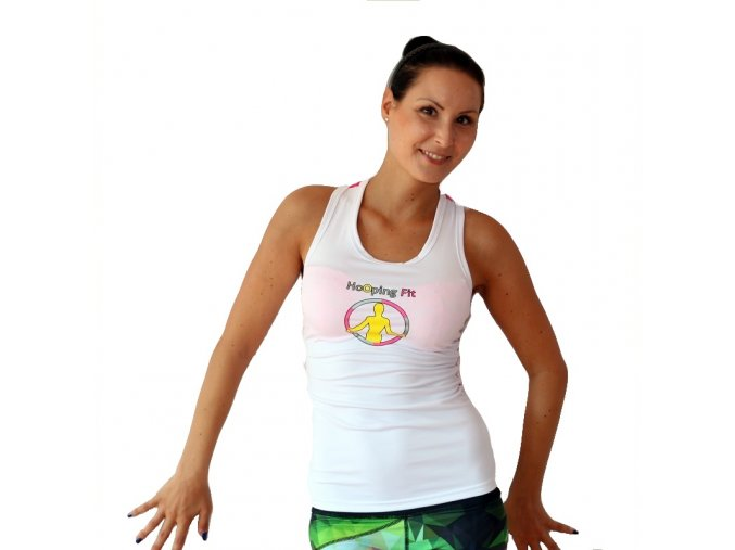 HoOpingFit Hoopy Top White