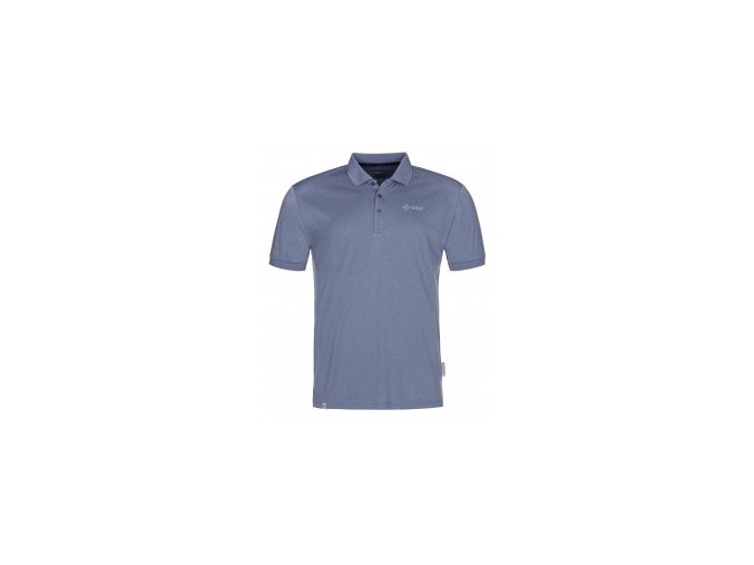 collar modra pánské polotriko