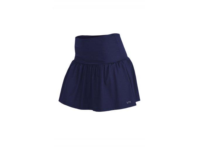 5A234 modrá sportovní sukně