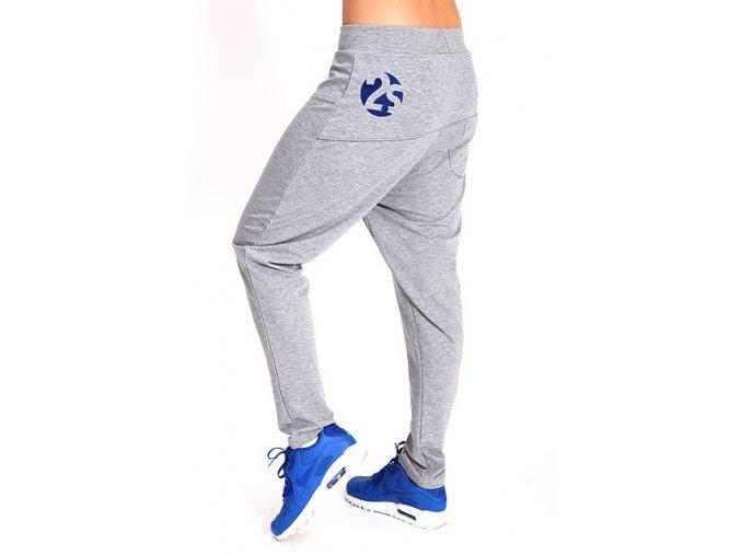 2S Chrome kalhoty dámské šedé