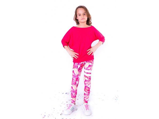 Spontanic violet dětské triko
