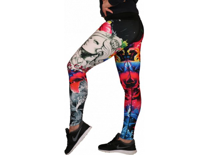 HoOpingFit Sketch Leggings Flower´s girl