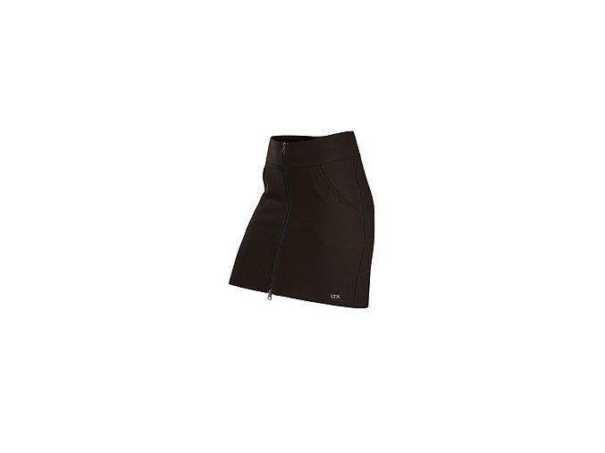 7A412 sportovní sukně kapsy zip