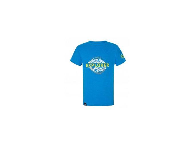 Kilpi dětské chlapecké triko modra