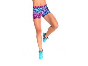 2SKIN Krátké barevné šortky No Limits
